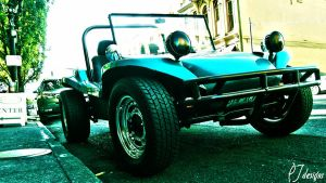Little Blue Dune Buggy by PTdesigns