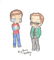 sheldon and leonard by xxZombieHotKillaxx