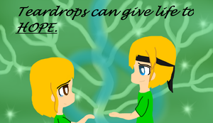 'Teardrops can give life to Hope' by ToonPrincessZeldaFan
