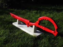 Scissor Blade painted by Ginerra