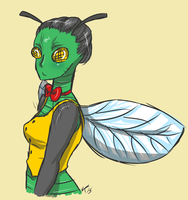 July 10th: Day 13 Insect by Meli-Melon