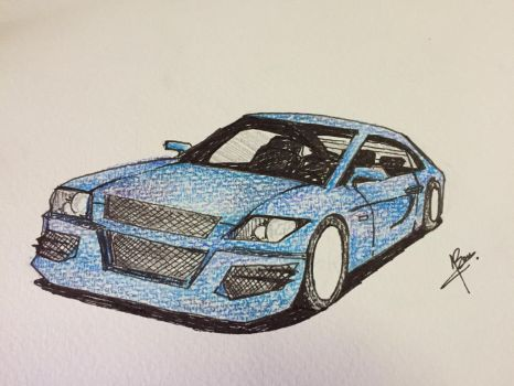 Car doodle by RancisAct