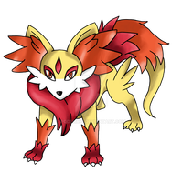 Fennekin Fake Final Evolution by Pgdelirio