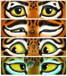 Box Art for Tiger Stripes by feliciacano