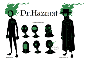"""The New"" Dr. Hazmat by Dr-Hazmat"