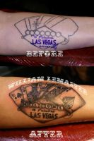 Fix - Not Welcome to Las Vegas by Bill by SmilinPirateTattoo