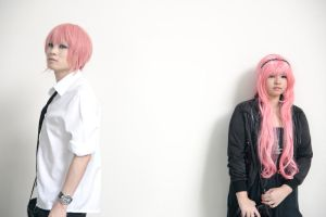 Vocaloid: Casual Luki and Luka by naokunn