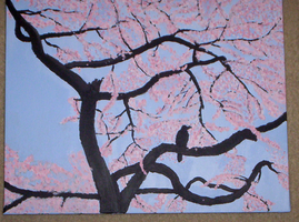 Sakura Painting by cosmic-clover