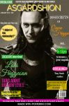 Fictional cover- ASGARDSHION MAGAZINE by neniths