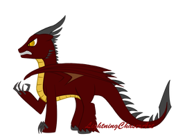MLP Qilin (Evil) by FlailingFishy