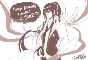 Happy Birthday Kanda by darkn2ght