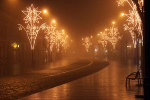 Foggy Evening by greenxboy