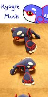 Kyogre Plush by Luminous-Luchador