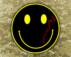 Pilot Abilene Smiley dark wall by damndirtyape