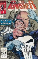 signed The Punisher #18 by force2reckon