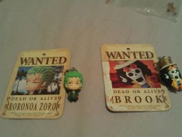 Zoro and Brook! by Goldfish-24-7