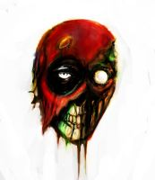 DEADPOOL ZOMBIE by suspension99