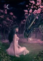 Beauty and Her Dragon by AnasteziA