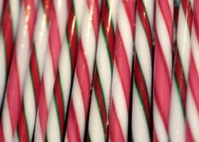 candy canes... by ToxicChick