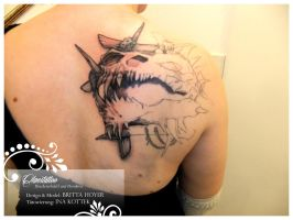 Tattoo - work in progress by poisonmilow