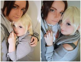 Ymir and Christa preview photo. by Millahwood