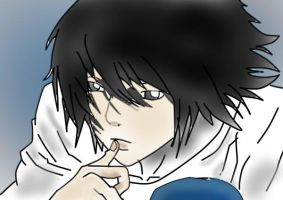 L of death note from sim2007 by mikalanix