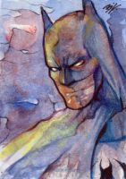 Batman Sketch Card 2 by Ethrendil