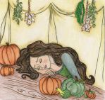 Asleep with the Pumpkins 2 by thelumpy