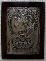 Horse in Art Nouveau by CacaioTavares