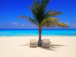 Cancun Beach Chairs by pureoptic