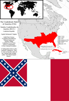 Confederate States of America: (Alt: History) by Brony-Artisan