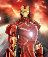 IRONMAN by VPdessin