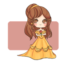 tinies : belle by stephie-boo