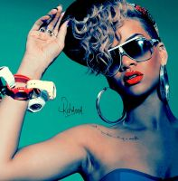 RIHANNA 16 by Ashesteidem-Editions