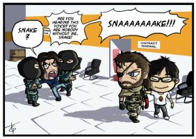 Metal Gear Solid V: The 'Hayter' Pain by Akatsuya