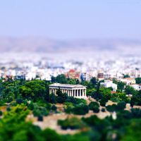 Athens by Justynka