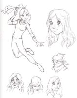 character design exploration by kristaia