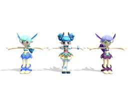 MMD Grand Chase Model Rip 18: Blue Fairy by Kritobias