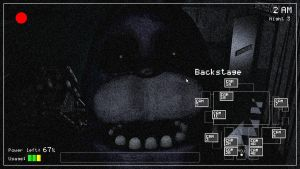Five Nights at Freddy's camera template by KaleidonKep99