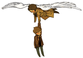 spn: GRIPPED YOU TIGHT by Suu-mon