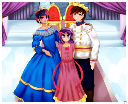 Humanized Royal Family of Tambelon by Courageous-of-Light