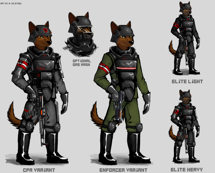 Khan armour design sheet by MC-STEEL