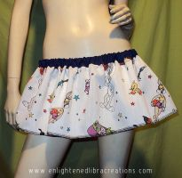 Bug Bunny Space Jam Skirt by RedheadThePirate