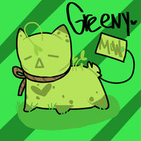 Greeny The Teabag by octohol