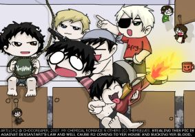 CHIBI BABY MCR ATTACK by Chocoreaper