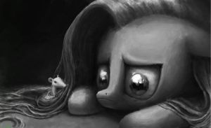 Fluttershy is Sad by TidensBarn