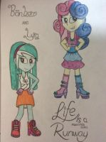 Bon Bon and Lyra : Life is a Runway by DAKA-DoubleAgent