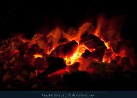 Burning Coal 14 by kuschelirmel-stock