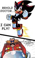 Shadow The Hedgehog Can Fly?! by WaniRamirez