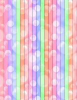 Bokeh Lucky Star Paper Pattern by dark-raven0